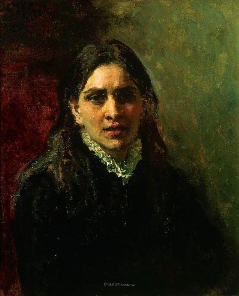 列宾 | 女性肖像作品精选 82幅插图76