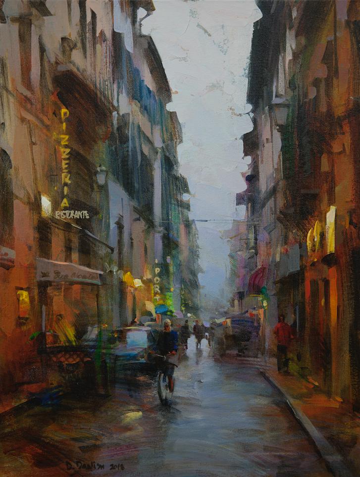 他把他的城市,画得如此温暖美妙,光色十足!插图23