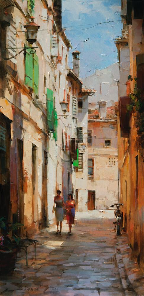 他把他的城市,画得如此温暖美妙,光色十足!插图43