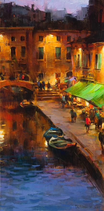 他把他的城市,画得如此温暖美妙,光色十足!插图45