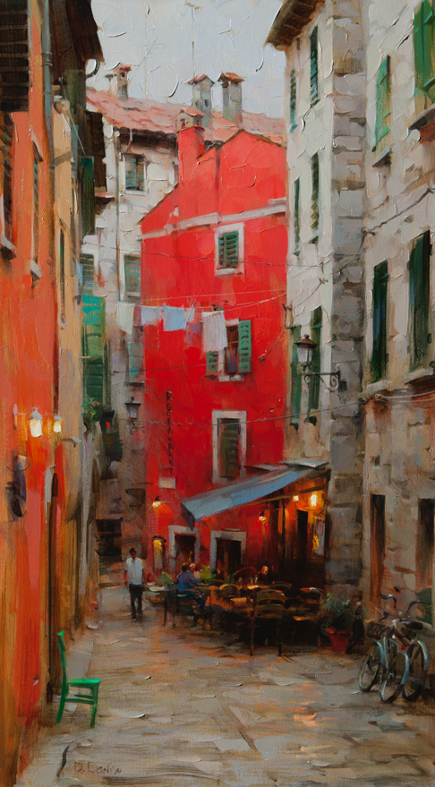 他把他的城市,画得如此温暖美妙,光色十足!插图47