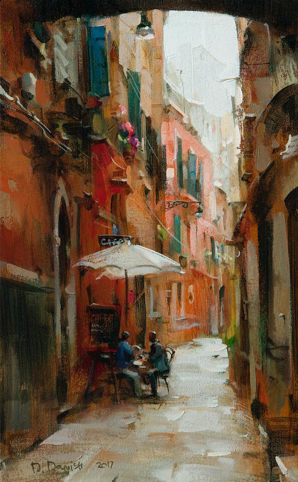 他把他的城市,画得如此温暖美妙,光色十足!插图51