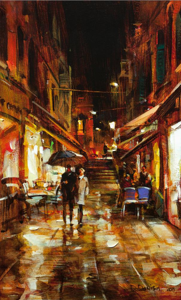 他把他的城市,画得如此温暖美妙,光色十足!插图53