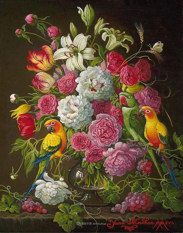 新现实主义风格花鸟画,乌克兰女画家Yana Movchan (上)插图43