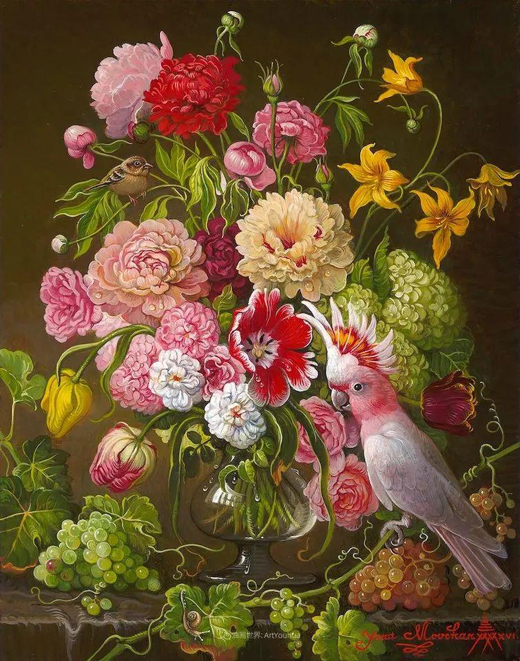 新现实主义风格花鸟画,乌克兰女画家Yana Movchan (上)插图47