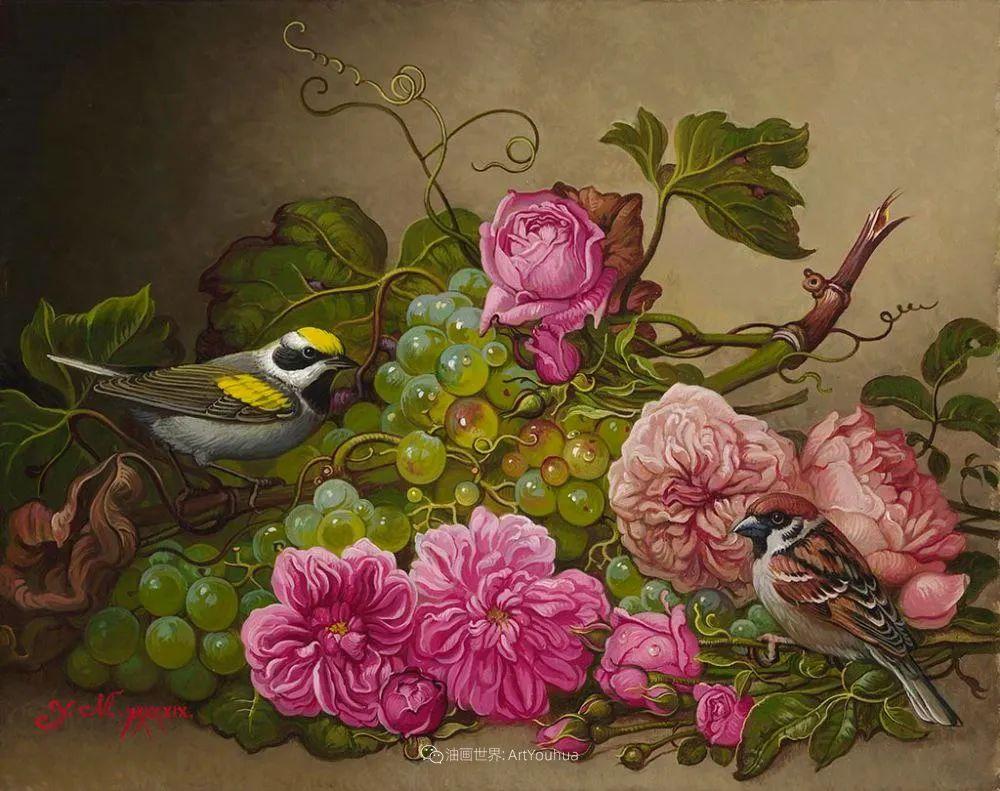 新现实主义风格花鸟画,乌克兰女画家Yana Movchan (上)插图61