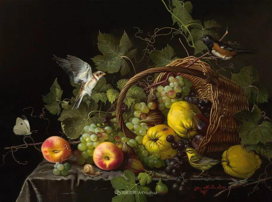 新现实主义风格花鸟画,乌克兰女画家Yana Movchan (上)插图67