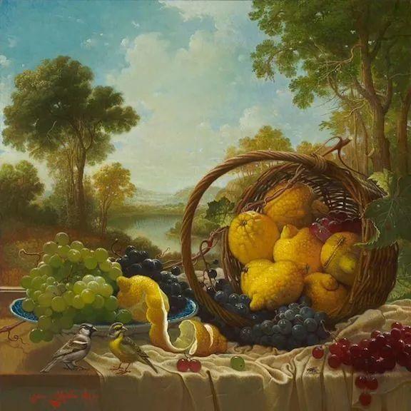 新现实主义风格花鸟画,乌克兰女画家Yana Movchan (上)插图73