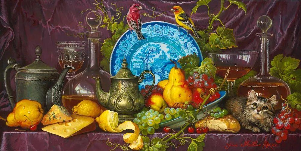 新现实主义风格花鸟画,乌克兰女画家Yana Movchan (上)插图95