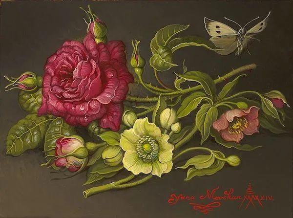 新现实主义风格花鸟画,乌克兰女画家Yana Movchan (上)插图97