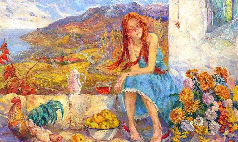 细致瑰丽的画风,俄罗斯女画家纳塔利娅·图尔插图1