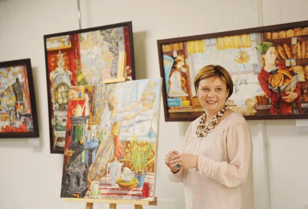 细致瑰丽的画风,俄罗斯女画家纳塔利娅·图尔插图2