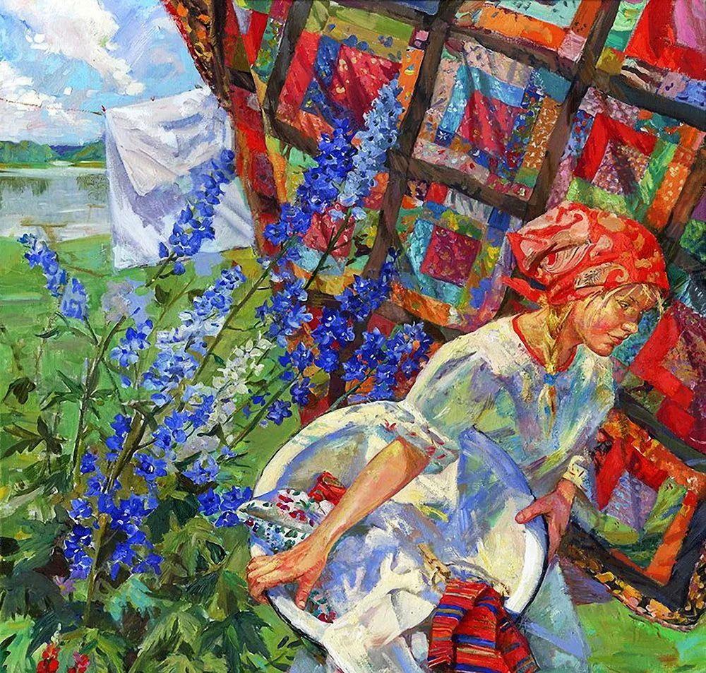 细致瑰丽的画风,俄罗斯女画家纳塔利娅·图尔插图3
