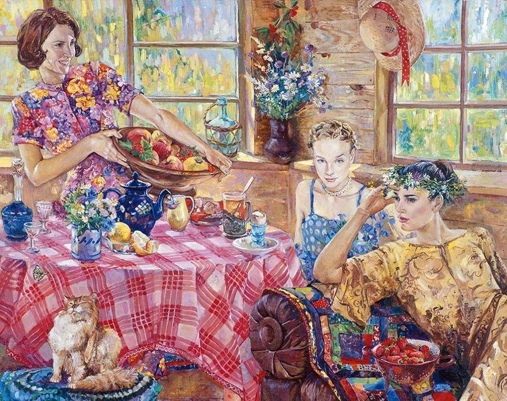 细致瑰丽的画风,俄罗斯女画家纳塔利娅·图尔插图4