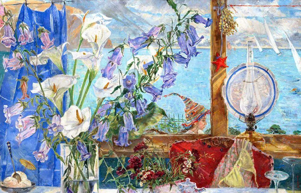 细致瑰丽的画风,俄罗斯女画家纳塔利娅·图尔插图5
