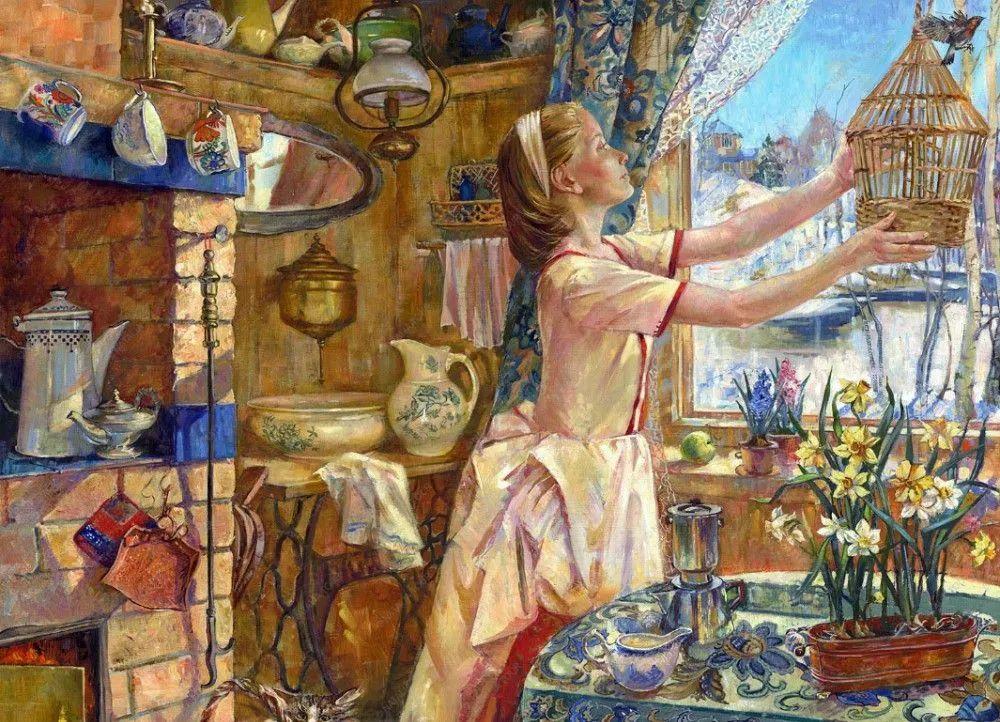 细致瑰丽的画风,俄罗斯女画家纳塔利娅·图尔插图6