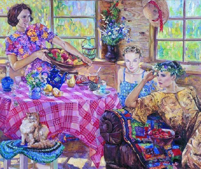 细致瑰丽的画风,俄罗斯女画家纳塔利娅·图尔插图7