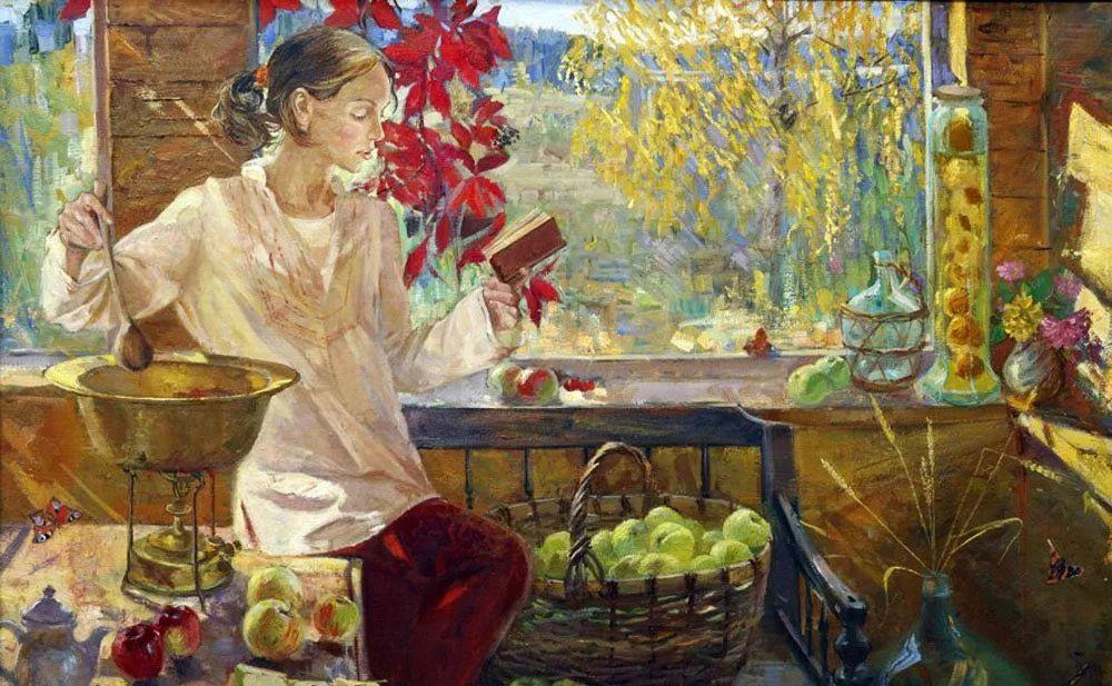 细致瑰丽的画风,俄罗斯女画家纳塔利娅·图尔插图9