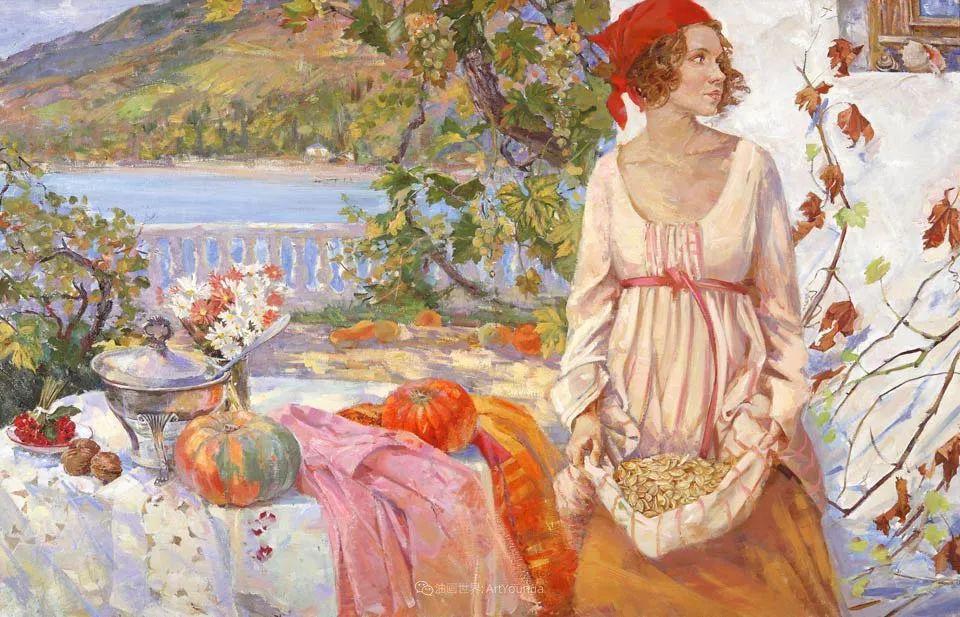 细致瑰丽的画风,俄罗斯女画家纳塔利娅·图尔插图10