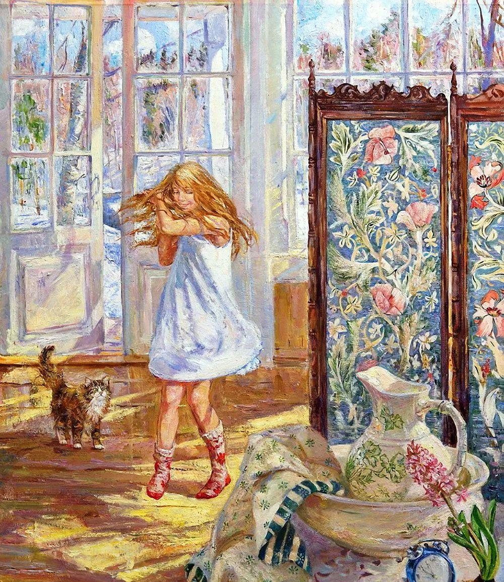 细致瑰丽的画风,俄罗斯女画家纳塔利娅·图尔插图11