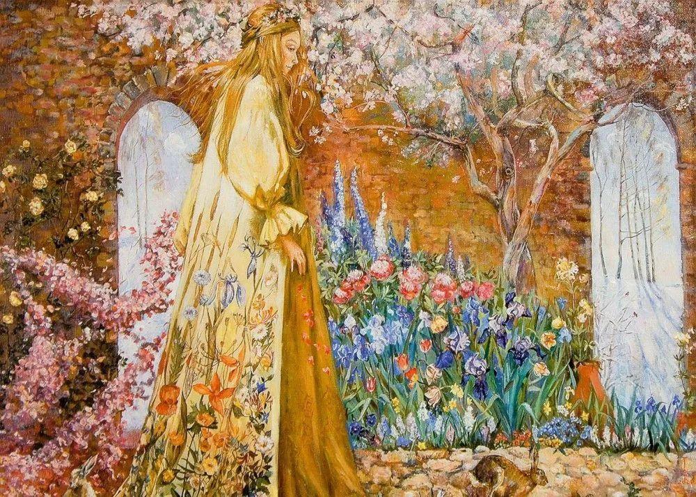 细致瑰丽的画风,俄罗斯女画家纳塔利娅·图尔插图12