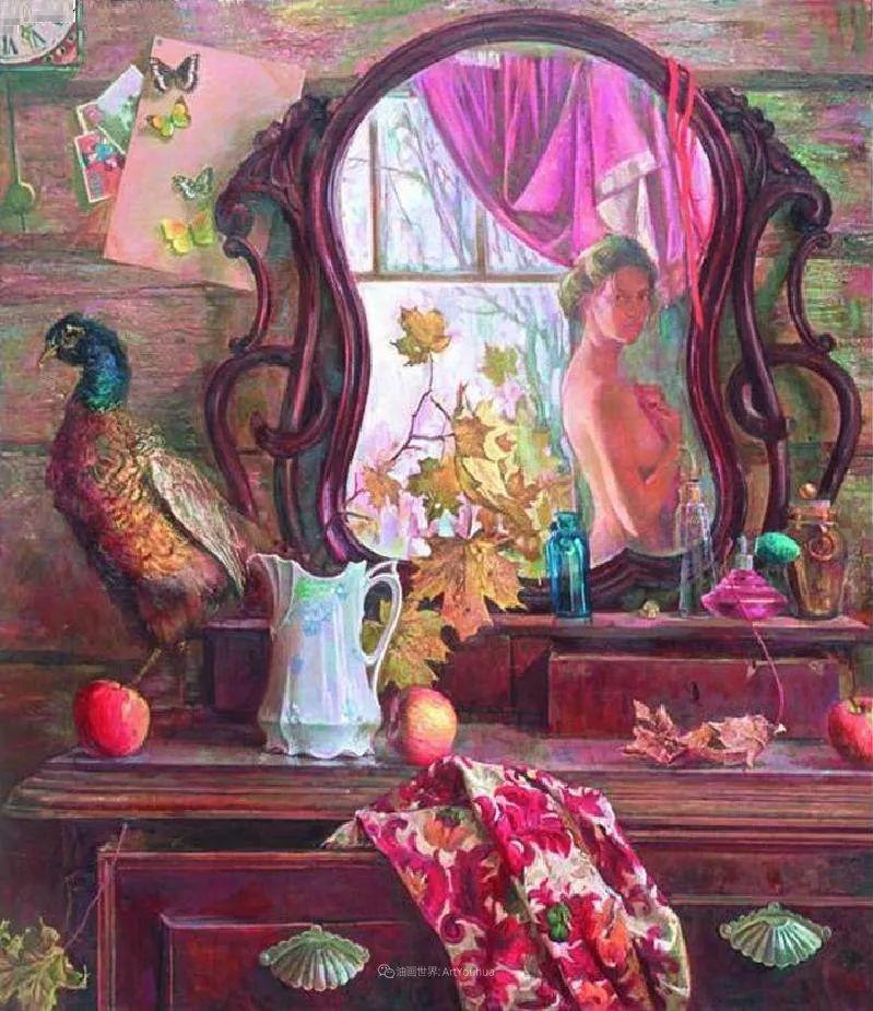 细致瑰丽的画风,俄罗斯女画家纳塔利娅·图尔插图14