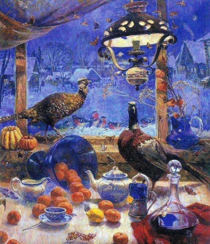 细致瑰丽的画风,俄罗斯女画家纳塔利娅·图尔插图18