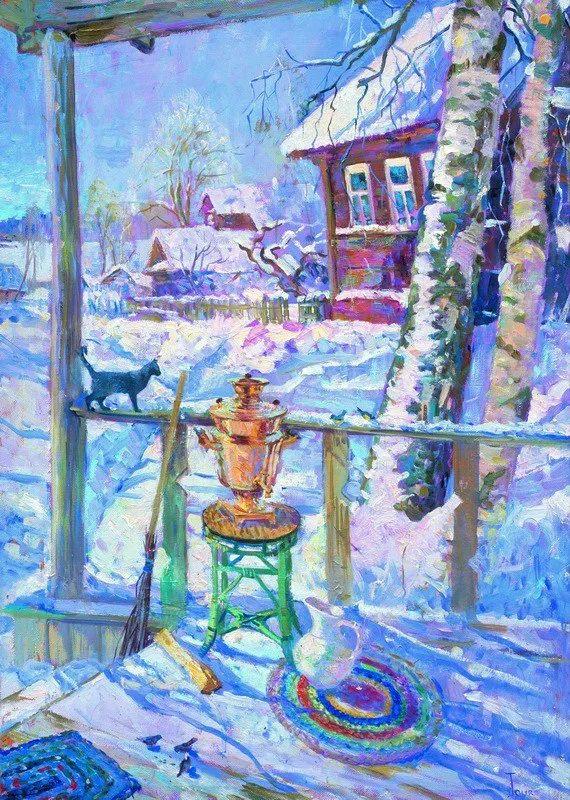 细致瑰丽的画风,俄罗斯女画家纳塔利娅·图尔插图19