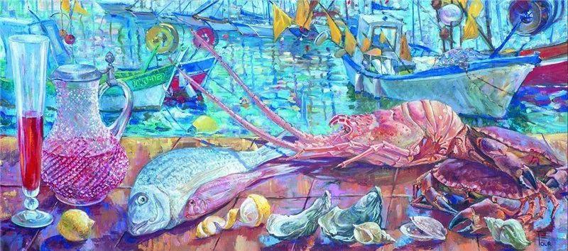 细致瑰丽的画风,俄罗斯女画家纳塔利娅·图尔插图21