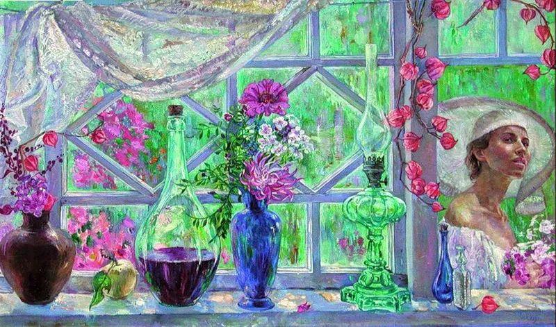 细致瑰丽的画风,俄罗斯女画家纳塔利娅·图尔插图23