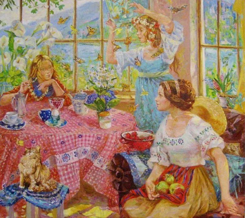 细致瑰丽的画风,俄罗斯女画家纳塔利娅·图尔插图24