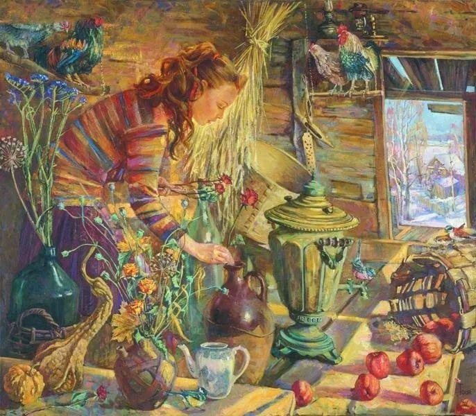 细致瑰丽的画风,俄罗斯女画家纳塔利娅·图尔插图25