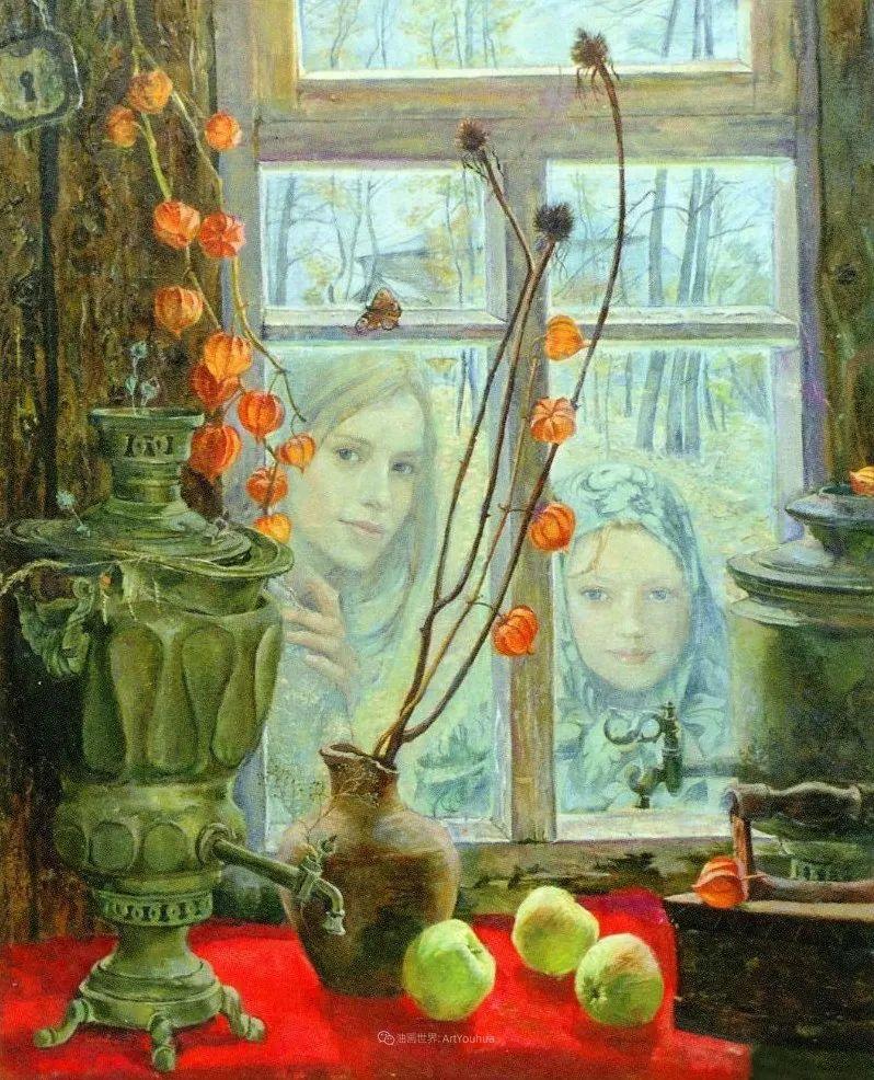 细致瑰丽的画风,俄罗斯女画家纳塔利娅·图尔插图26