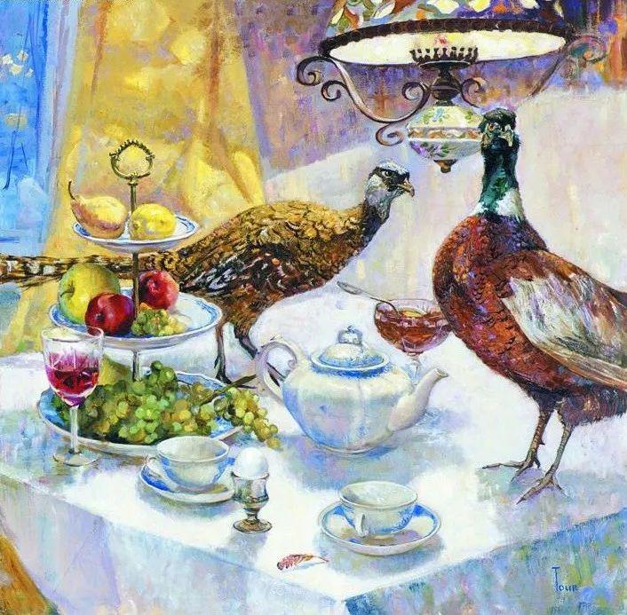 细致瑰丽的画风,俄罗斯女画家纳塔利娅·图尔插图27