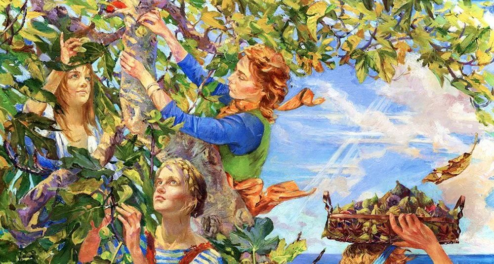细致瑰丽的画风,俄罗斯女画家纳塔利娅·图尔插图29