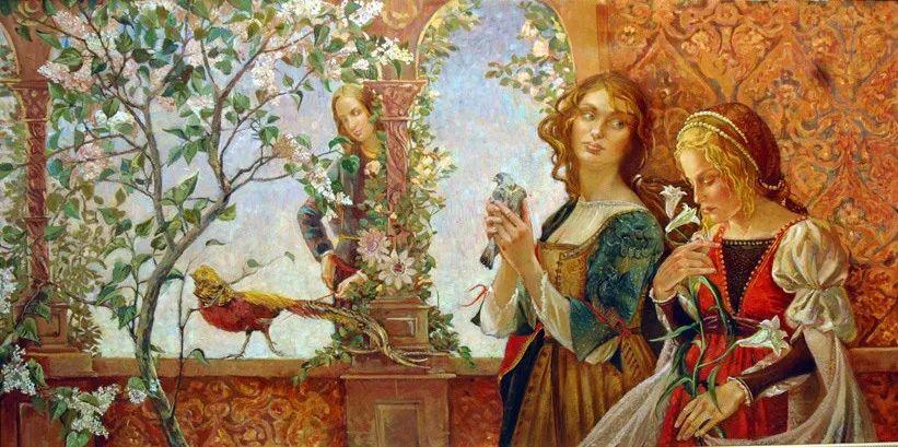 细致瑰丽的画风,俄罗斯女画家纳塔利娅·图尔插图30