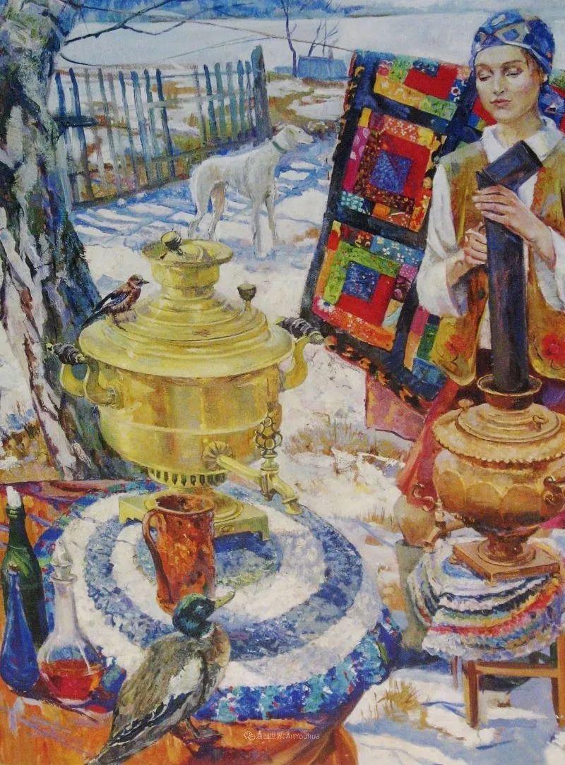 细致瑰丽的画风,俄罗斯女画家纳塔利娅·图尔插图31