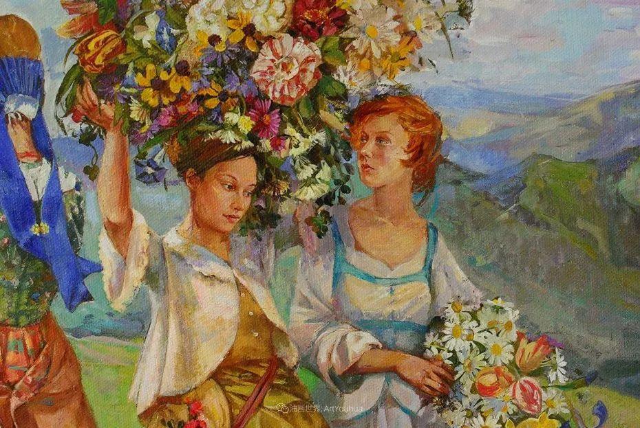 细致瑰丽的画风,俄罗斯女画家纳塔利娅·图尔插图32