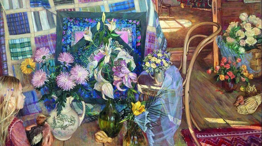 细致瑰丽的画风,俄罗斯女画家纳塔利娅·图尔插图33