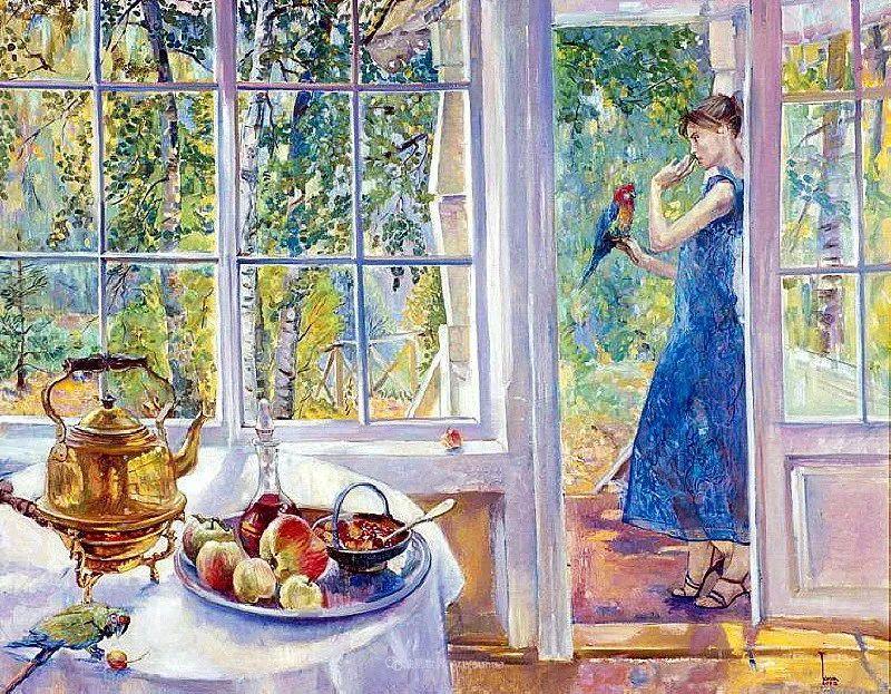 细致瑰丽的画风,俄罗斯女画家纳塔利娅·图尔插图34