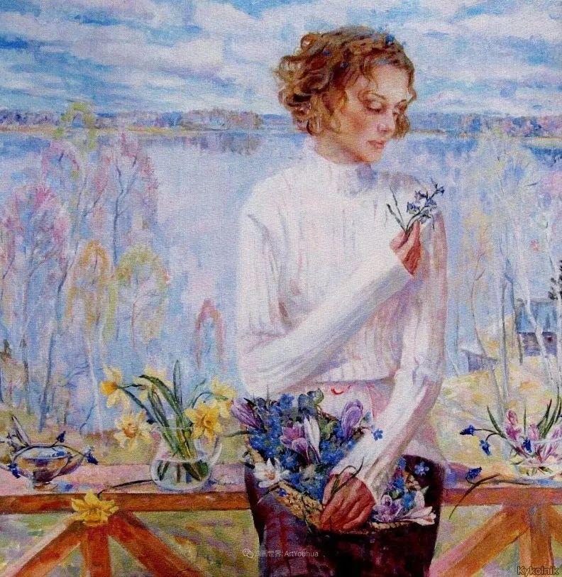 细致瑰丽的画风,俄罗斯女画家纳塔利娅·图尔插图35