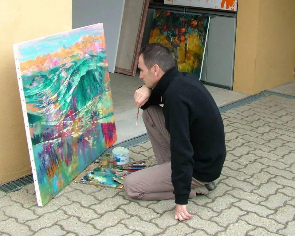 既抽象又写实的迷离感,意大利画家亚历克斯·贝尔塔纳插图25