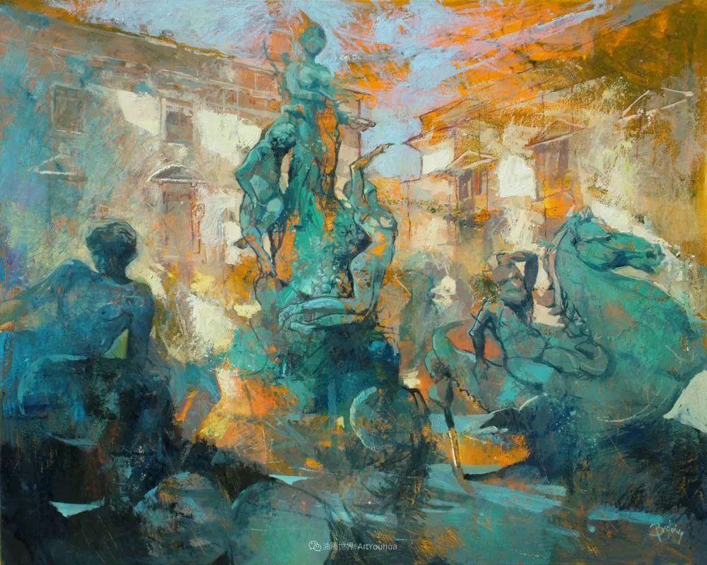 既抽象又写实的迷离感,意大利画家亚历克斯·贝尔塔纳插图105
