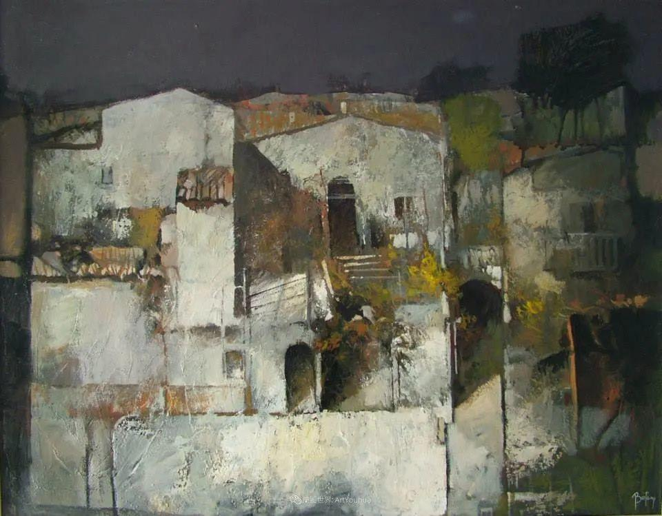 既抽象又写实的迷离感,意大利画家亚历克斯·贝尔塔纳插图137