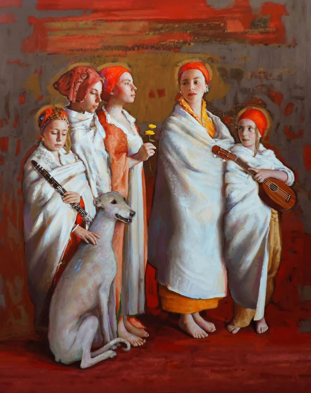 追随经典美学,阿根廷画家雨果·乌拉赫插图1