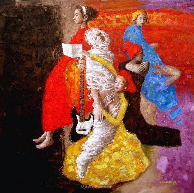 追随经典美学,阿根廷画家雨果·乌拉赫插图11