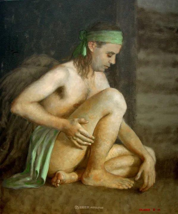 追随经典美学,阿根廷画家雨果·乌拉赫插图39