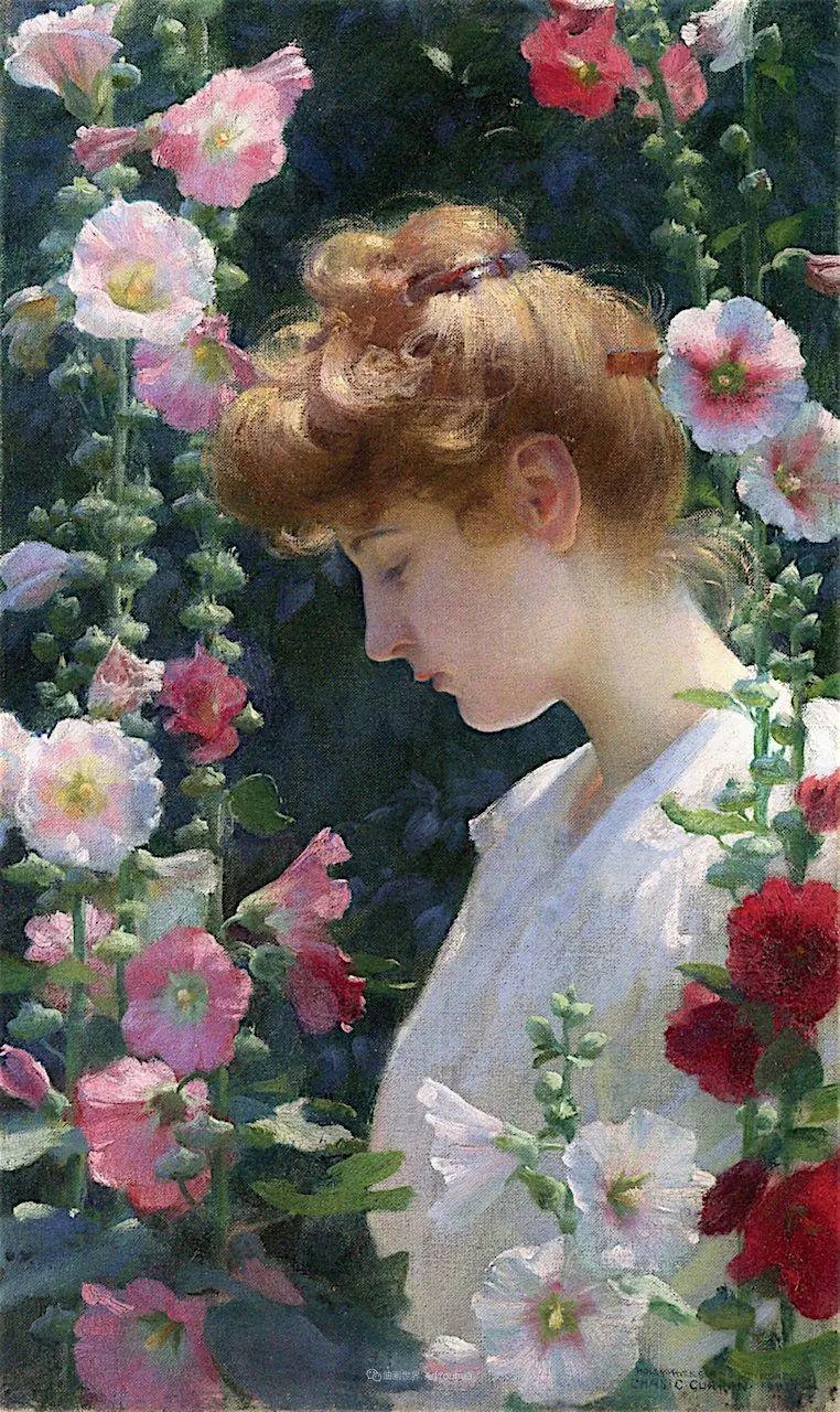 查尔斯·柯兰笔下的女人花,清香娇美!插图9