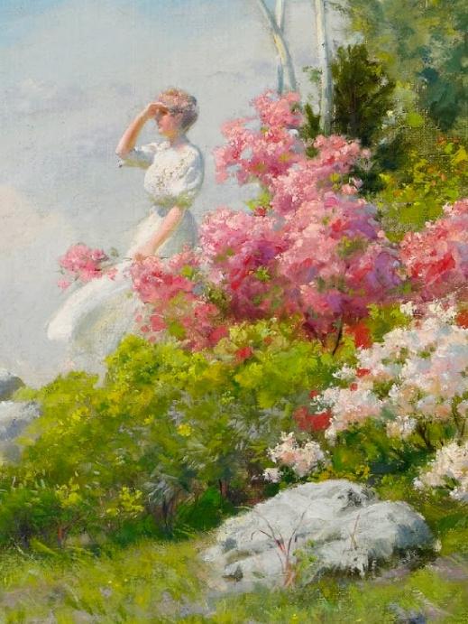 查尔斯·柯兰笔下的女人花,清香娇美!插图19