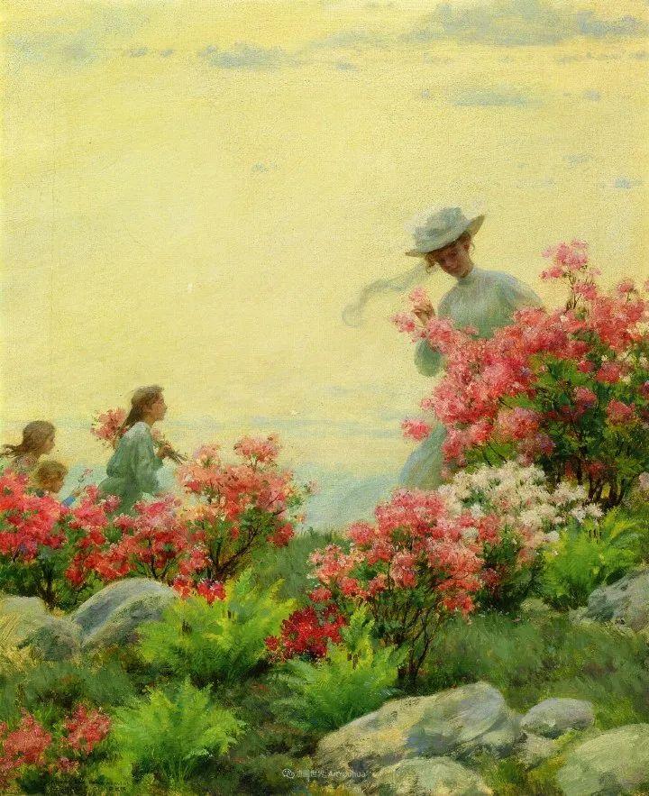 查尔斯·柯兰笔下的女人花,清香娇美!插图61